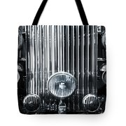 Front Grid Tote Bag by Carlos Caetano