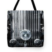 Front Grid Tote Bag