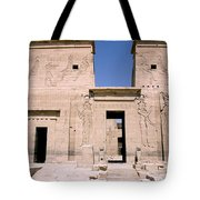 Front Of Philae Wall Tote Bag
