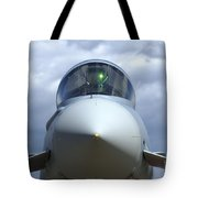 Front View Of A Eurofighter Typhoon Tote Bag