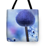 Frost Covered Mushroom, North Canol Tote Bag