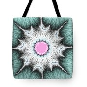 Frost Flower Tote Bag