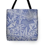 Frost On A Window Tote Bag