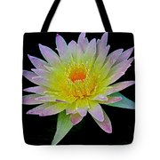 Frosted Lily Tote Bag