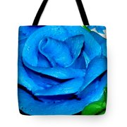 Frosting Rose Tote Bag