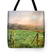 Frosty Morn Tote Bag