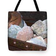 Frosty Rocks Tote Bag