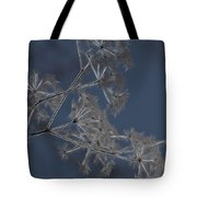 Frosty Weeds Tote Bag