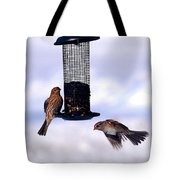 Frozen In Flight 1 Tote Bag