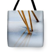 Frozen Lotus Tote Bag