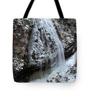 Frozen Narada Falls Tote Bag