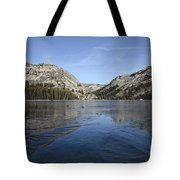 Frozen Tenaya Lake Tote Bag