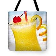 Frozen Tropical Orange Drink Tote Bag by Elena Elisseeva