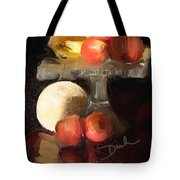 Fruit Of Renaissance Period Tote Bag