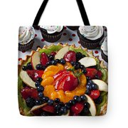 Fruit Tart Pie And Cupcakes  Tote Bag by Garry Gay