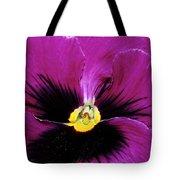Fuchsia Pansy Tote Bag
