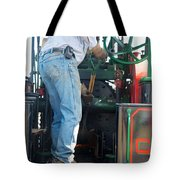 Fueling The Case Tote Bag