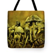 Fungus World Tote Bag by Chris Lord