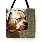 Funky Bulldog Tote Bag
