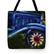 Funky Old Car Tote Bag