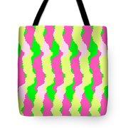 Funky Stripes Tote Bag