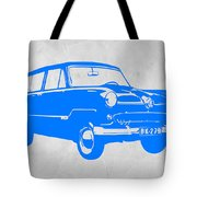 Funny Car Tote Bag by Naxart Studio