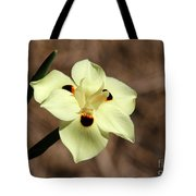 Funny Face Flower Tote Bag