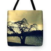 Furman Lake Tree Tote Bag