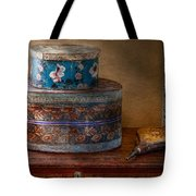 Furniture - Hat Boxes With Billow Tote Bag