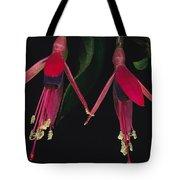 Fuschia Flowers Atlantic Forest Tote Bag