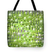 Future Forest Abstract Tote Bag