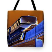 Future Monorail Tote Bag