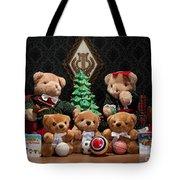 Fuzzy Bears 10 Tote Bag