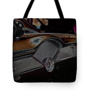 Fuzzy Dice Chevy Tote Bag