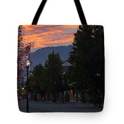 G Street Sunrise In Our Town Tote Bag