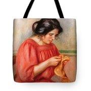 Gabrielle Darning Tote Bag
