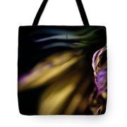 Galaxy Flower Tote Bag