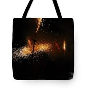 Galaxy Of Sparks Tote Bag