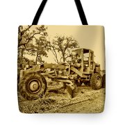 Galion Road Grader V2 Tote Bag