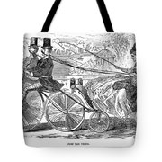 Gallant Admirers, 1869 Tote Bag
