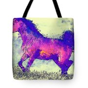 Galloping Grace Tote Bag