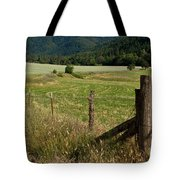 Galls Creek Farm Scene Tote Bag