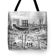 Galveston: Fire, 1877 Tote Bag