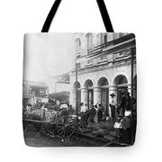Galveston Flood - September - 1900 Tote Bag by International  Images
