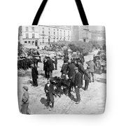Galway Ireland - The Market At Eyre Square - C 1901 Tote Bag