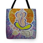 Ganesh Vandan Tote Bag