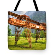 Gantry Crane Tote Bag