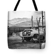 Garage Days Bw Tote Bag