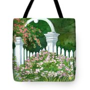 Garden Circle Gate Tote Bag