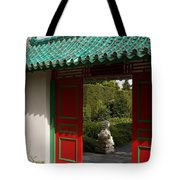 Garden Entrance Tote Bag